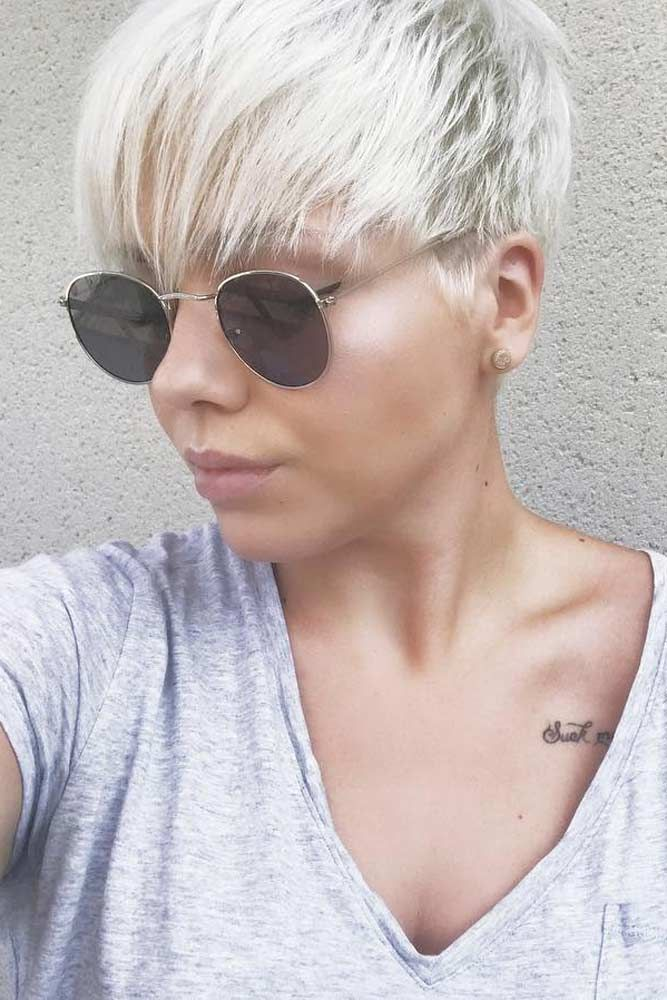 Description Check Out Our Gallery Of Y And Edgy Short Hairstyles For Fine Hair