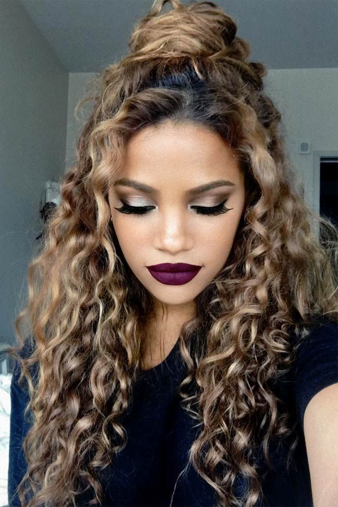 Best Hairstyles Haircuts For Women In 2017 2018 Curly Hair Is