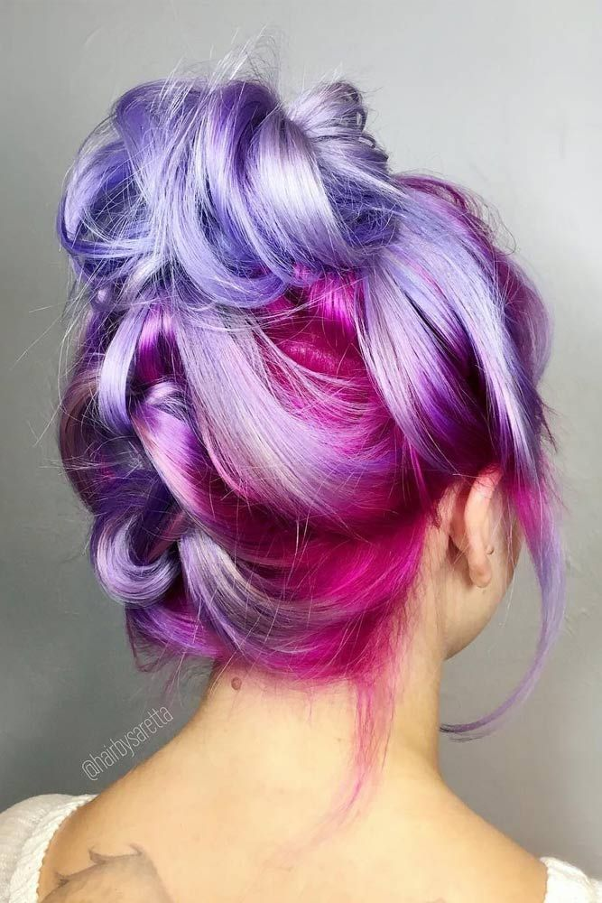 Hair Styles Colors Prepossessing Best 25 Colored Hair Styles Ideas On Pinterest  Crazy Hair .
