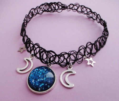 Diy Metal Jewelry Ofstarsandwine Pastel Goth Choker On
