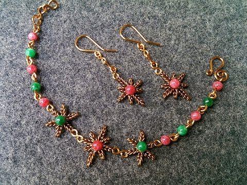 Diy Metal Jewelry Tutorial Earrings Bangles Snowflakes
