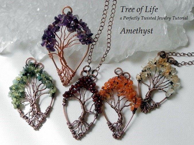 Diy Metal Jewelry Wire Wrap Tutorial Tree Of Life