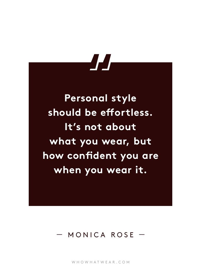 Quotes About Fashion 8 Influential Women On Finding Their Personal Style Flashmode Espa A