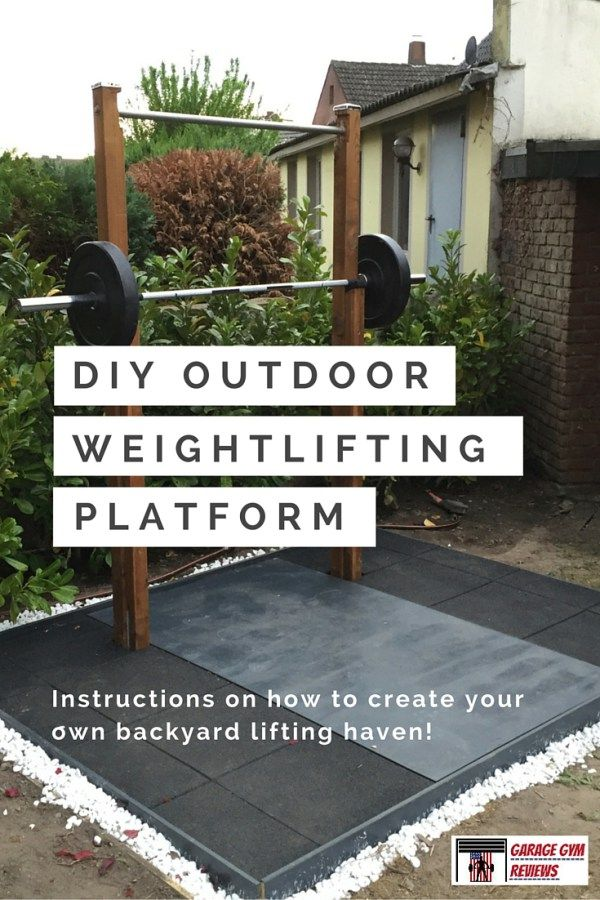 Yoga For Beginners Tips Diy Outdoor Weightlifting Platform