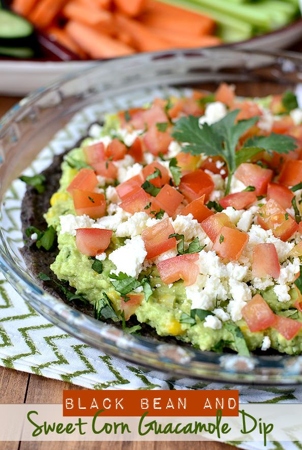 Best Workout Plans Black Bean And Sweet Corn Guacamole