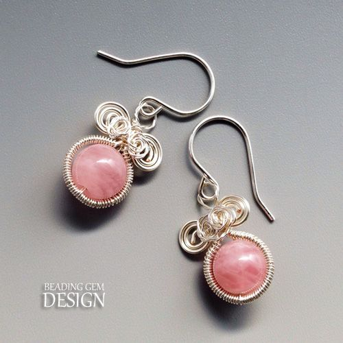 how to make wire jewelry earrings