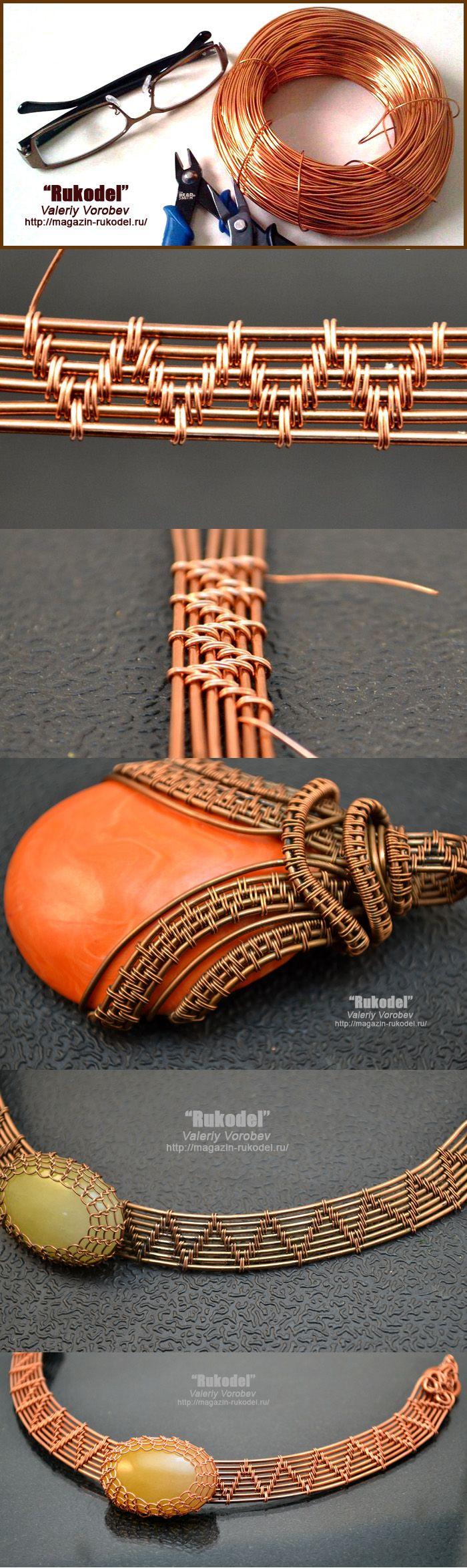 Diy metal jewelry t cnica de alambre de joyer a de for Metal rodio en joyeria