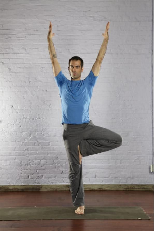 Yoga For Beginners Tips Best Poses Men Tree Pose Top