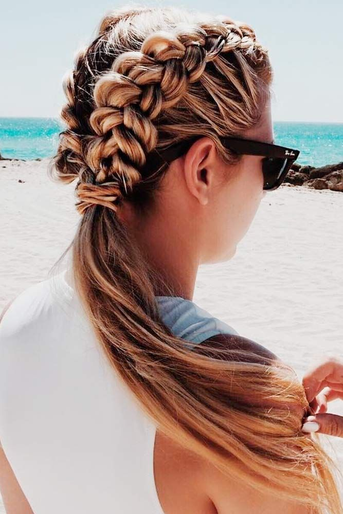 Easy Hairstyles For Summer Hair Color Ideas And Styles For 2018
