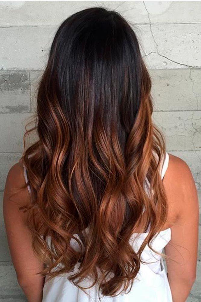 Description Brown Ombre Hair