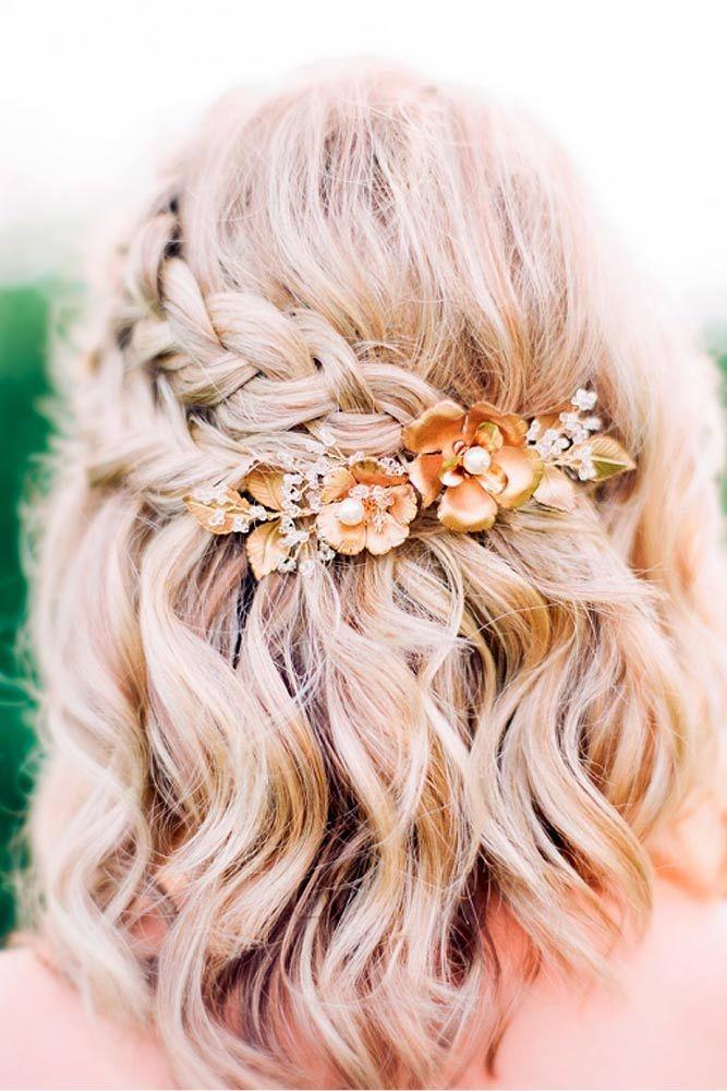 Best 25+ Medium wedding hair ideas on Pinterest | Bridesmaid hair ...