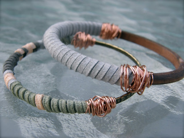 DIY Jewelry : Thrift Thick dyi: need copper jewelry wire, suede lace ...