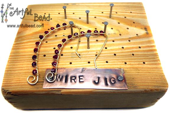 Diy Metal Jewelry Make Your Own Wire Jig Amp Earrings