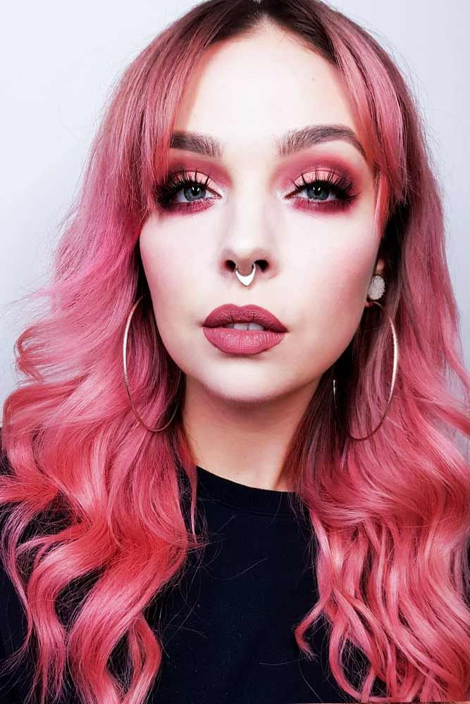Description. 21 Breathtaking Rose Gold Hair Ideas You Will Fall in Love  With Instantly ... 571851f20bee