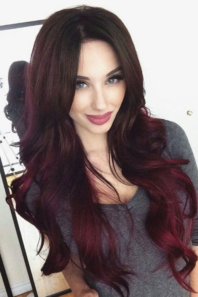 how to dye hair ombre style at home black with ombre hair hair color ideas and styles 8233