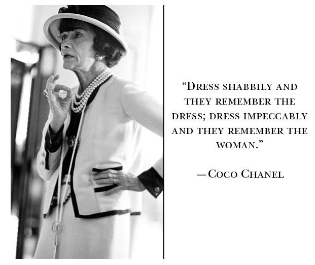 Quotes About Fashion Coco Chanel Quote Chanel Quotes