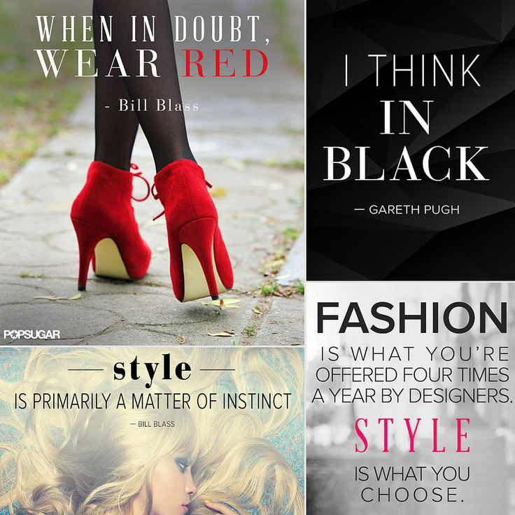 Quotes About Fashion 34 Famous Fashion Quotes Perfect For Your