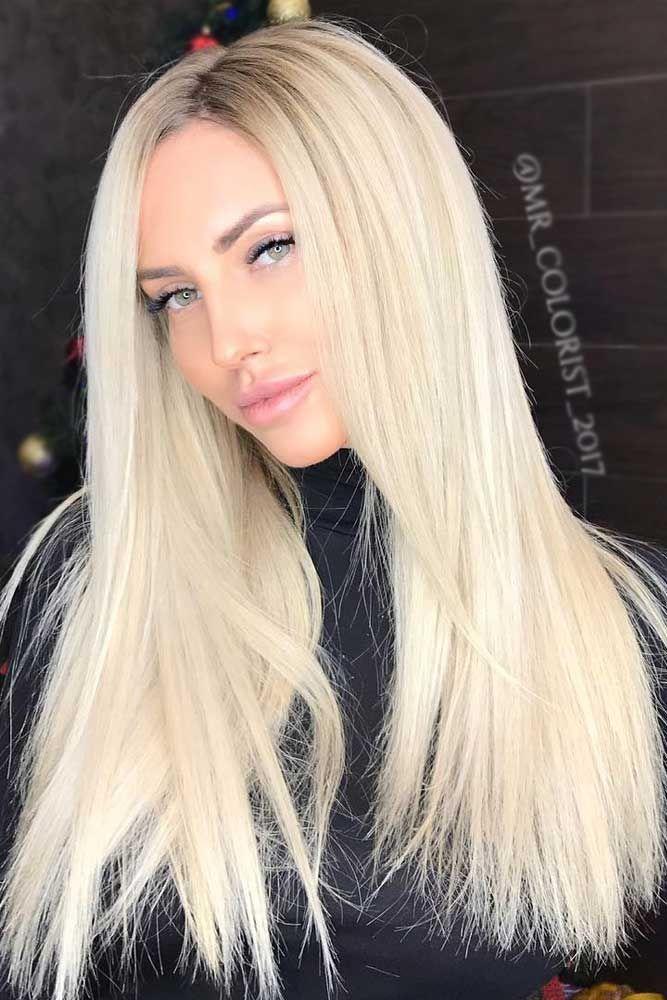 Long straight hair 2018