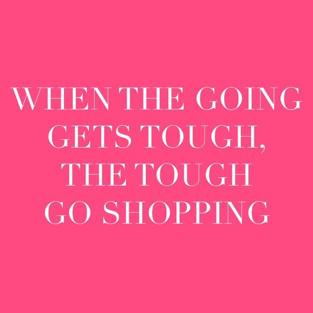 Quotes About Fashion : I think shopping is the best therapy ...