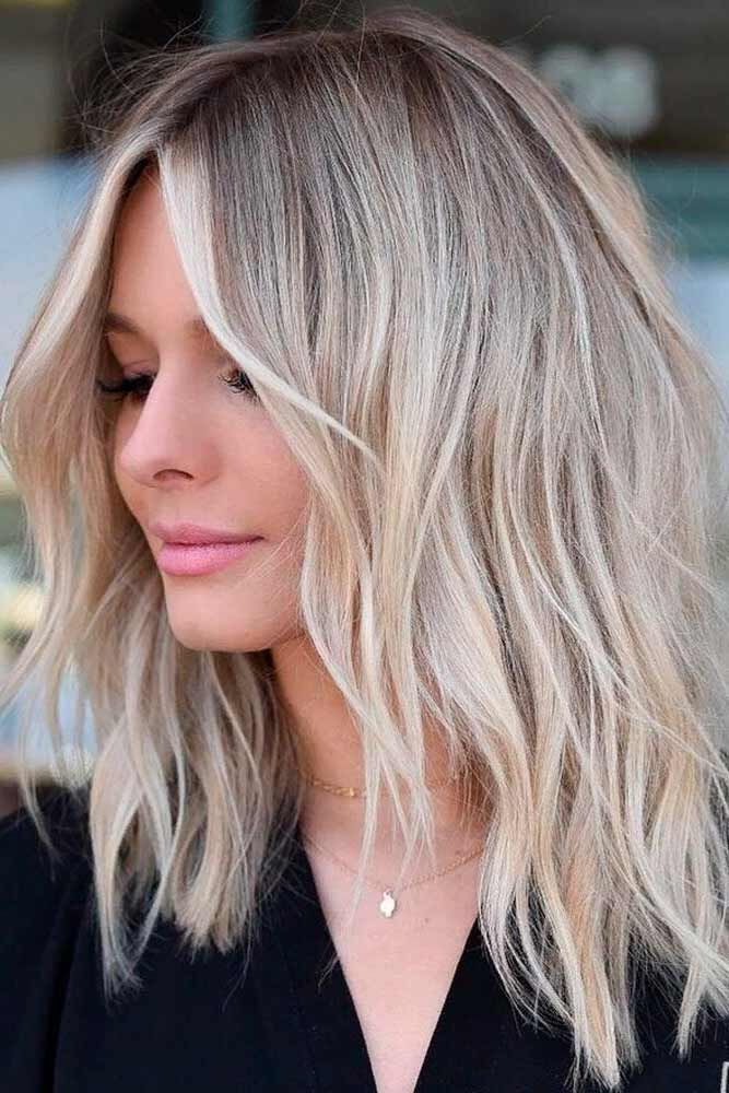 Best Hairstyles & Haircuts for Women in 2017 / 2018 : Love medium ...