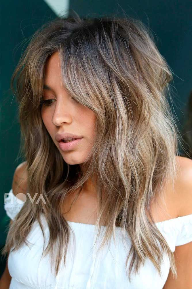 Best Hairstyles & Haircuts for Women in 2017 / 2018 : Messy Layered ...