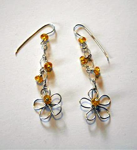Prime Diy Metal Jewelry Crazy Daisy Earrings Wire Jewelry Tutorials Wiring Cloud Hisonuggs Outletorg