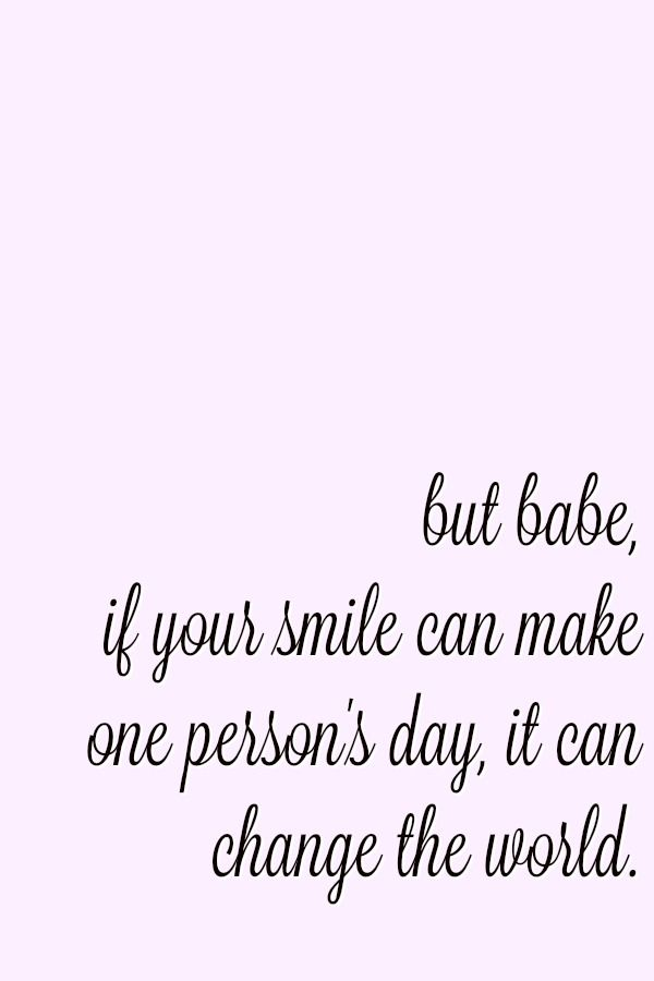 Quotes About Fashion : #babe #your #smile is incredibly ...