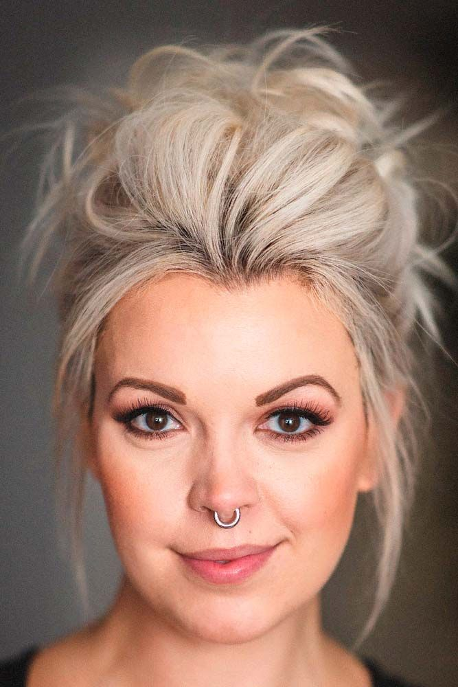 Best Hairstyles Haircuts For Women In 2017 2018 Messy Updo